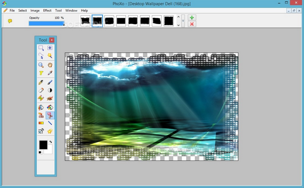 برنامج فوكسو للكتابة على الصور