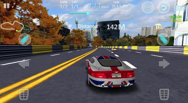 لعبة سباق السيارات للاندرويد