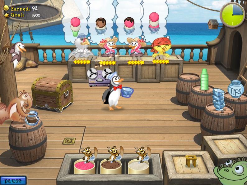 المستوى الاول فى المرحلة الثانية من لعبة البطريق