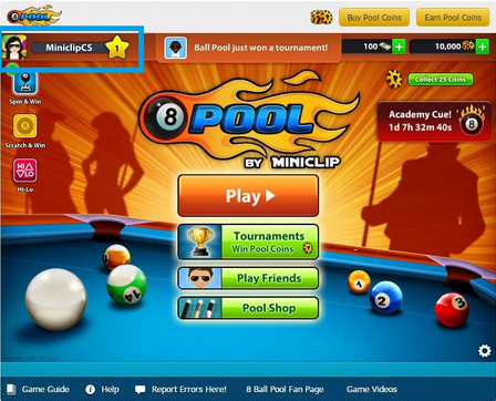 تحميل لعبة البلياردو 8 Ball Pool
