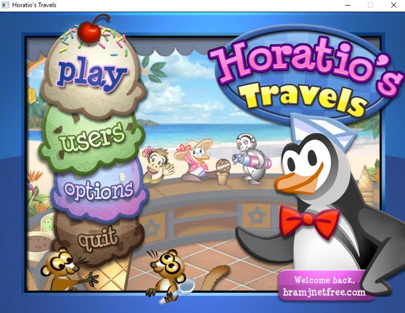 لعبة horatio's travels كاملة