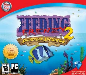 تحميل لعبه السمكه feeding frenzy كامله مجانا