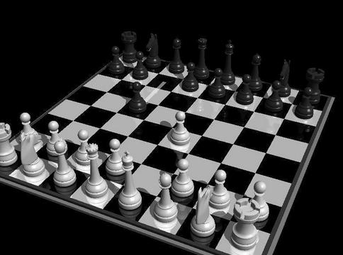 صورة من لعبة الشطرنج للمحترفين
