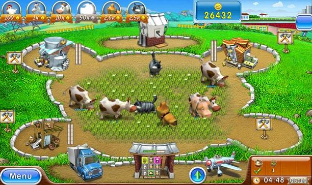 صورة من لعبة المزرعة فارم فرنزي الجزء الثاني