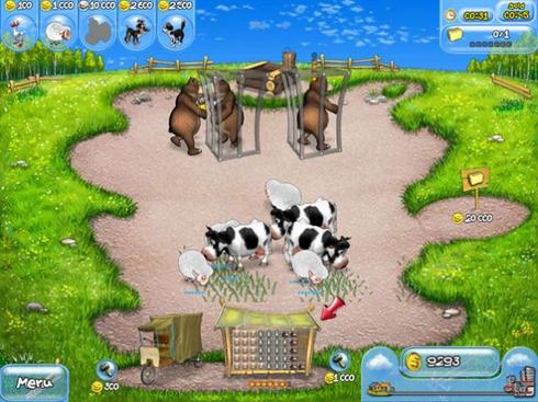صورة من لعبة فارم فرنزي الجزء الاول على الكمبيوتر