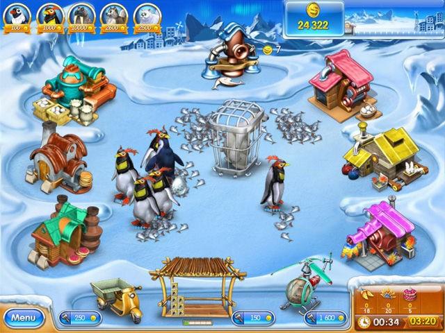 صورة من لعبة فارم فرنزي الجليد الجزء الثالث