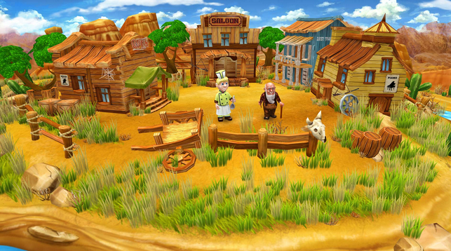 صورة من واجهة لعبة المزرعة فارم فرانزي الجزء الرابع